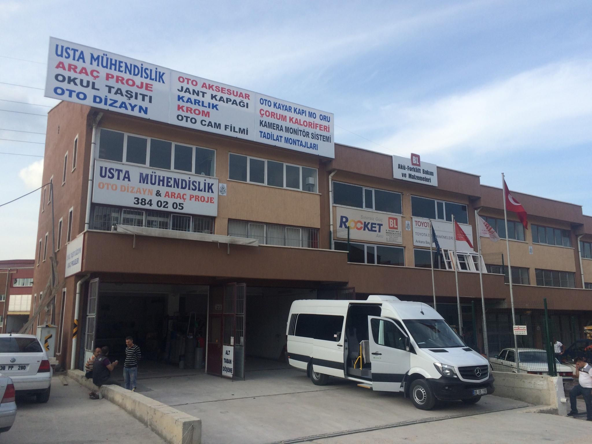 MERCEDES PPRİNTER OTOBÜS OKULTAŞI PROJESİ